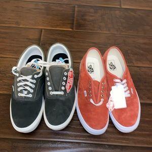 2 Pairs of Vans Sneakers